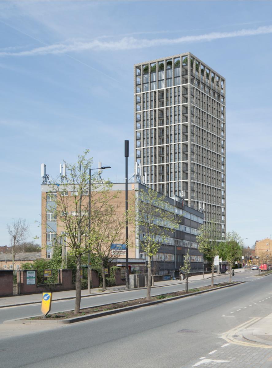 Scrubs Lane Tower